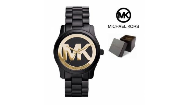 Black week. Relógio Michael Kors® Runway Black & Gold Dial  -  3ATM