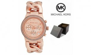 Relógio Michael Kors® Chronograph Rose Gold Ion Plated | 5ATM
