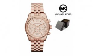 Relógio Michael Kors® Lexington Rose Gold