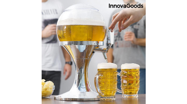 Dispensador de Cerveja Refrigerante Ball InnovaGoods