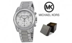 Relógio Michael Kors® Ladies White Crystal