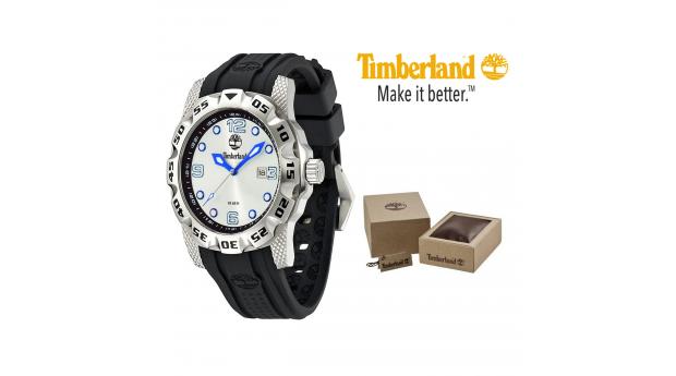 Relógio Timberland® Belknap Grey Pele  -  10ATM