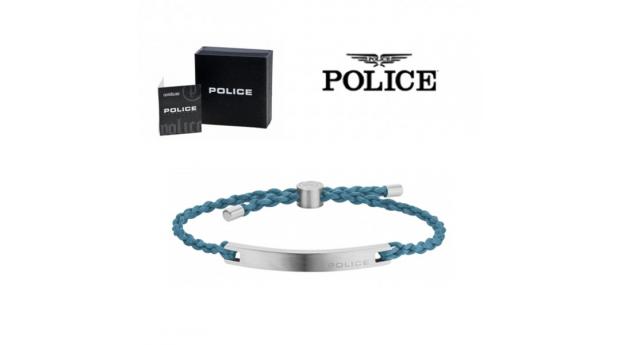 Pulseira Police® Bond Blue  -  18-20cm
