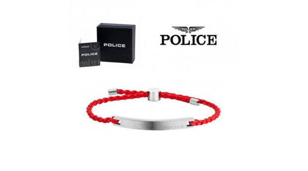 Pulseira Police® Bond Red  -  18-20cm