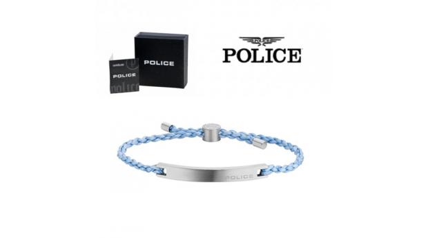Pulseira Police® Bond Light Blue  -  18-20cm