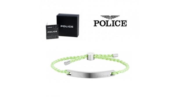 Pulseira Police® Bond Light Green  -  18-20cm