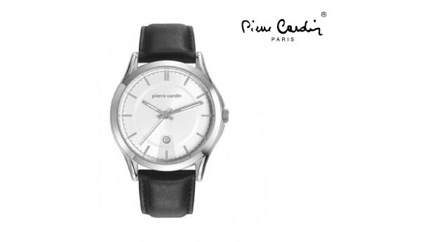 Relógio Pierre Cardin® Botzaris Homem Steel Black  -  5ATM