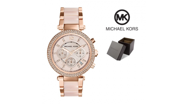 Relógio Michael Kors® Parker Blush and Rose Gold-Tone