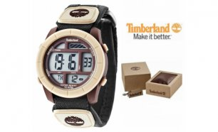Relógio Timberland® Duston Digital Camel