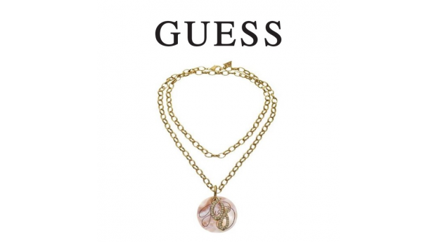 Guess® Colar Pearl Circle Gold