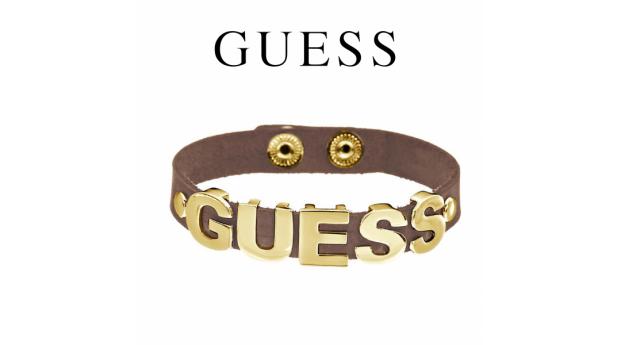Guess® Pulseira Couro GUESS