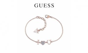Guess® Pulseira Kiss and Love