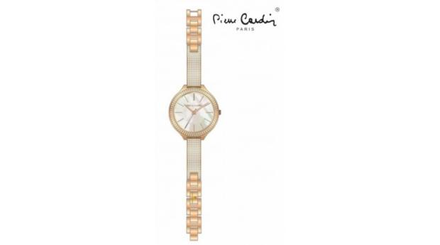Relógio Pierre Cardin® Rose Gold Flowers