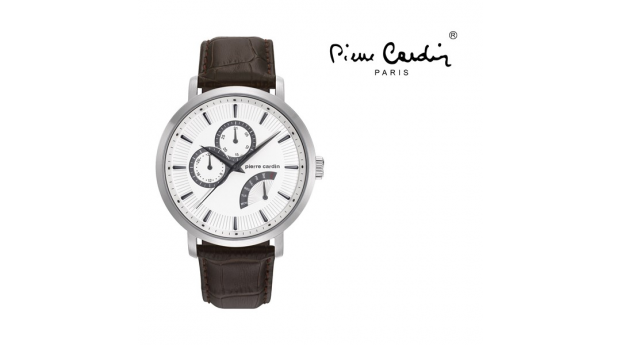 Relógio Pierre Cardin® Pompe Homme Steel Brown  -  5ATM