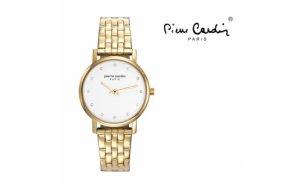 ec19f8d69da Relógio Pierre Cardin Passy Mulher Metal Dourado