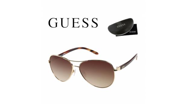 Guess® Óculos de Sol GUF235 GLD-34A