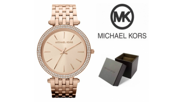 Relógio Michael Kors® Darci Rose Gold I 5ATM