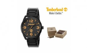 Relógio Timberland® Holliston Black Analog