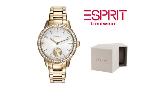 Relógio Esprit Essentials Cristal