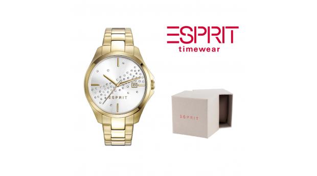 Relógio Esprit Cecilia Dourado