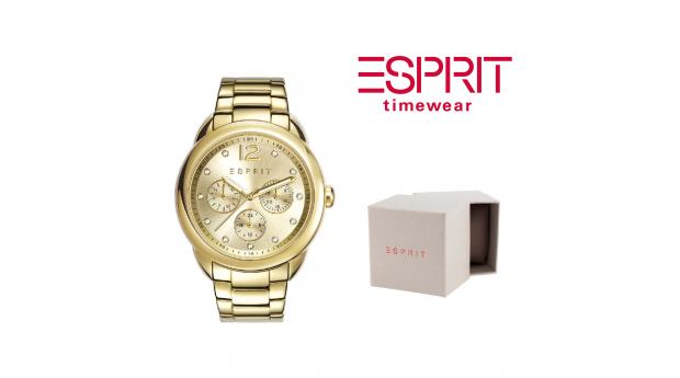 Relógio Esprit® Carrie Gold