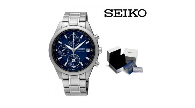 Relógio Gant Azul e Prateado