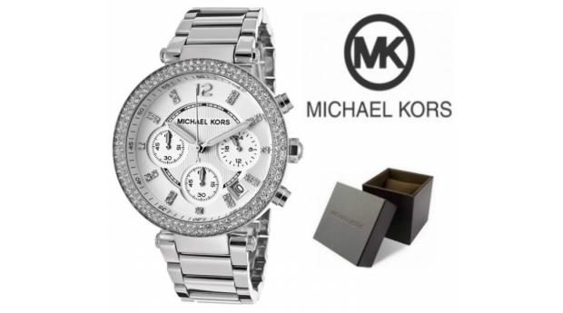 Relógio Michael Kors® Parker Silver Dial