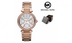 Relógio Michael Kors® Mini Parker Rose Gold