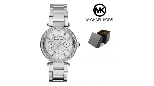Relógio Michael Kors Mini Parker Prateado