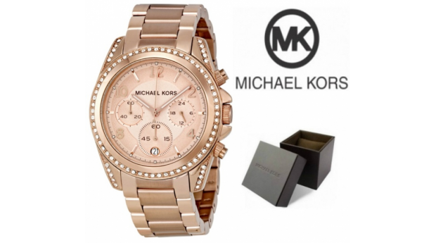 Relógio Michael Kors® Blair Rose Gold