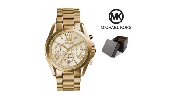 Relógio Michael Kors® Bradshaw Chronograph Gold