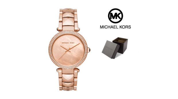 Relógio Michael Kors® Parker Crystal Rose Gold Tone