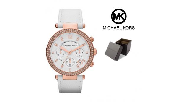 Relógio Michael Kors® Parker Chronograph Rose Gold