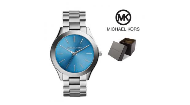 Relógio Michael Kors® Slim Runway Blue Dial