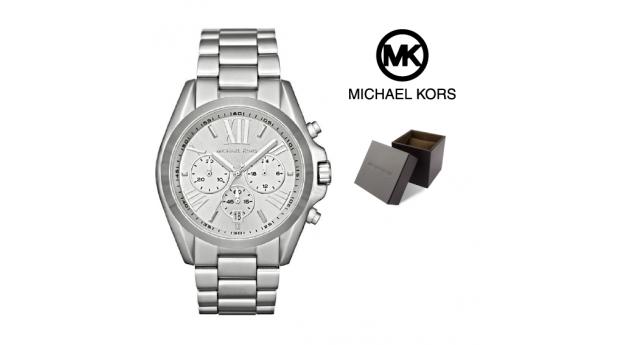 Relógio Michael Kors® Bradshaw Chronograph Silver