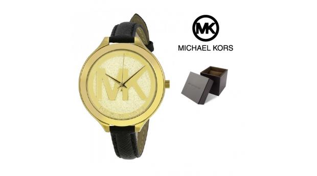 Relógio Michael Kors® Slim Runway Gold Dial