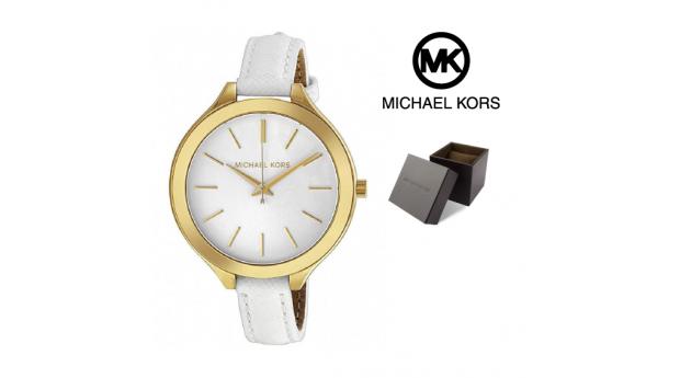Relógio Michael Kors® Slim Runway White Dial