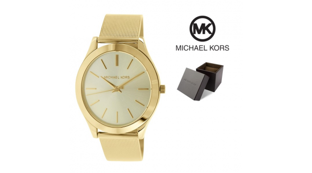 Relógio Michael Kors® Champagne Dial Gold