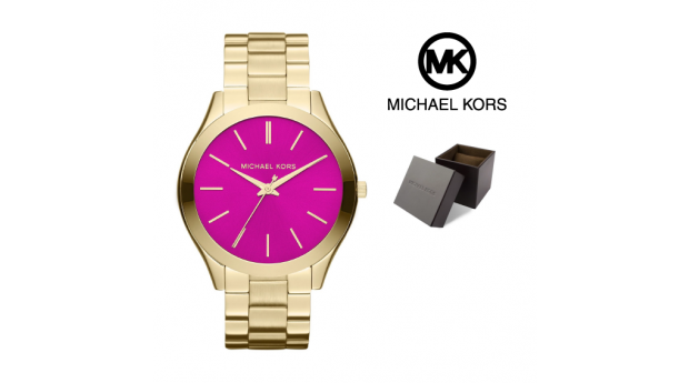 Relógio Michael Kors® Runway Slim ll Pink Gold