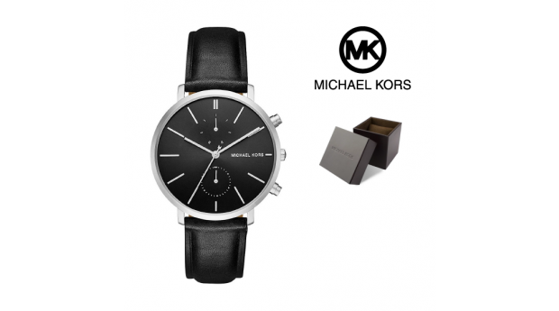Relógio Michael Kors® Jaryn Black Leather
