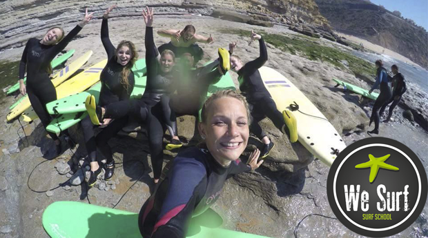 Domina as Ondas na Ericeira! Baptismo de Surf para 1 ou 2 Pessoas e Opção de Pack de Aulas!