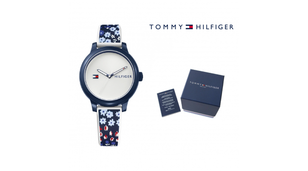 Relógio Tommy Hilfiger Ashley Navy Flowers