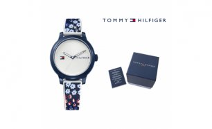 Relógio Tommy Hilfiger® Ashley Navy Flowers