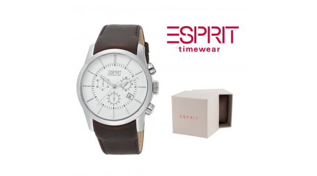 Relógio Esprit Base Castanho