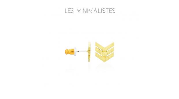 Les Minimalistes® Brincos Jane Gold