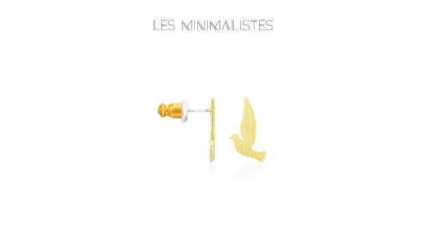 Les Minimalistes® Brincos Naya