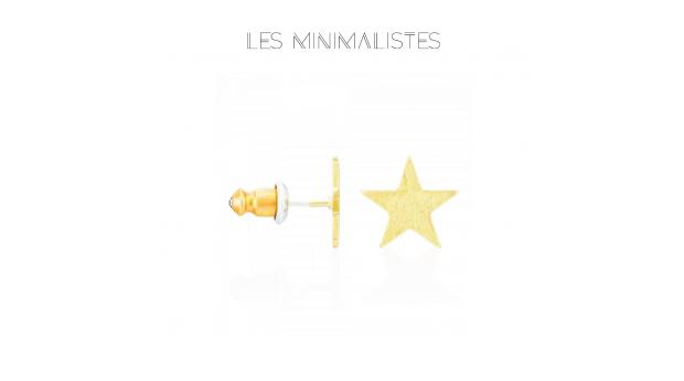 Les Minimalistes® Brincos Jude Gold