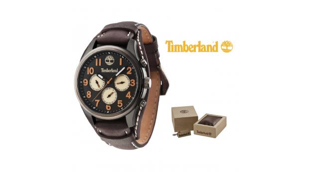 Relógio Timberland® Rollins Black  -  Brown  -  5ATM