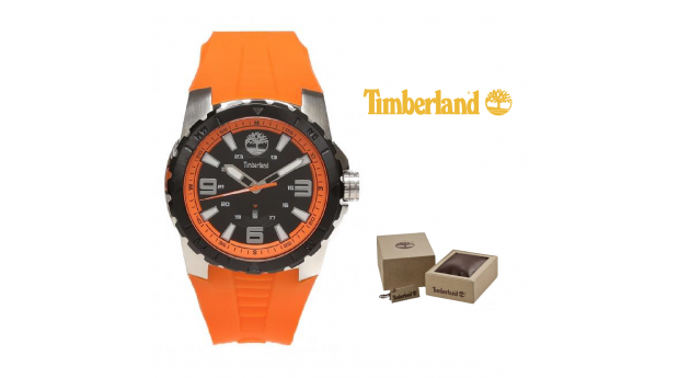 Relógio Timberland® Orange/Black Dial  -  5ATM