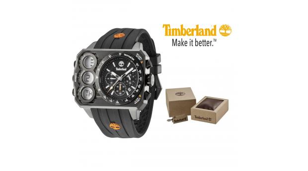 Relógio Timberland® HT3 Chronograph Black  -  5ATM